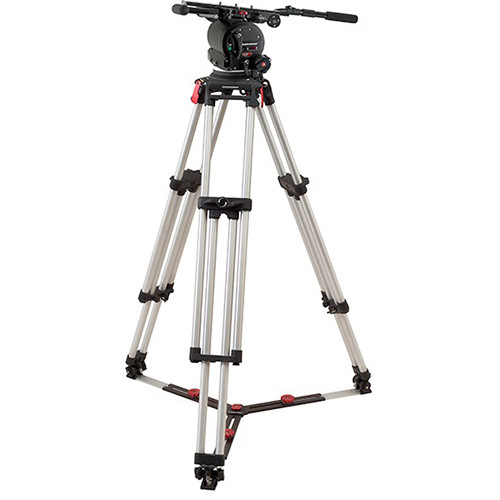 OConnor 120EX Fluid Head & Cine HD Mitchell Top Tripod with Ground Spreader