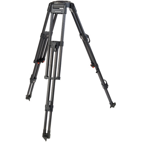 OConnor 60L 2-Stage Carbon Fiber Tripod Legs with Mitchell Top Plate