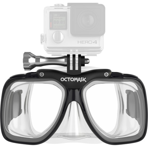 OCTOMASK Scuba Mask for GoPro Camera (Clear)