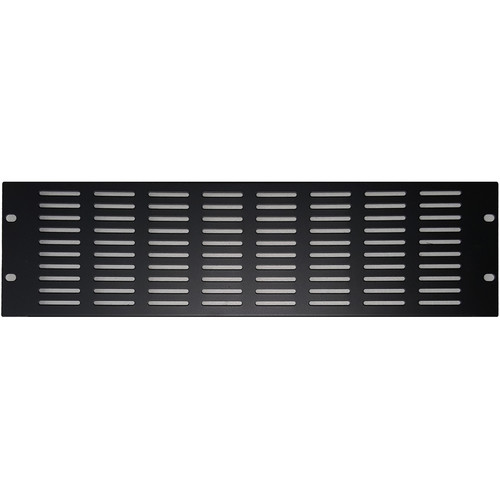 Odyssey Innovative Designs 3 RU Rackmount Slotted Vent Panel