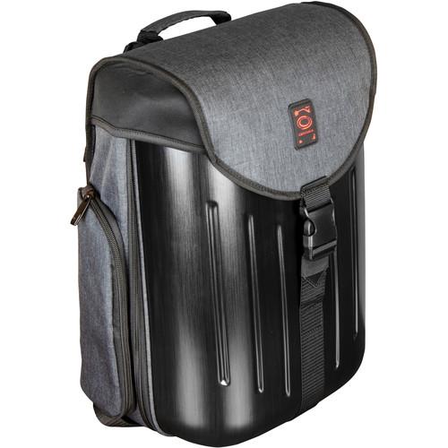 Odyssey Innovative Designs Battle Pack Hardshell DJ Backpack (Charcoal)