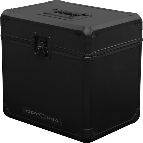 Odyssey Innovative Designs Black Krom Series KLP70BL Vinyl and LP/Utility Carrying Case