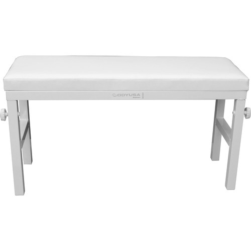 "Odyssey Innovative Designs 40"" Wide Portable Bench (White)"