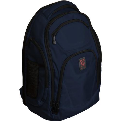 Odyssey Innovative Designs Backtrak XL DJ Gear Backpack (Dark Blue)