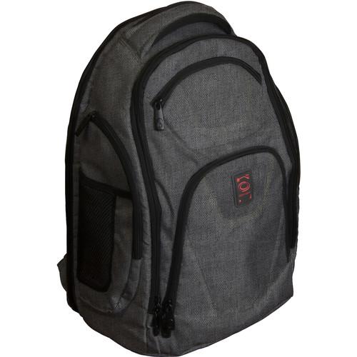 Odyssey Innovative Designs Backtrak XL DJ Gear Backpack (Gray)