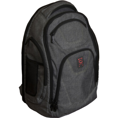 Odyssey Innovative Designs Backtrak XL DJ Gear Backpack (Gray)