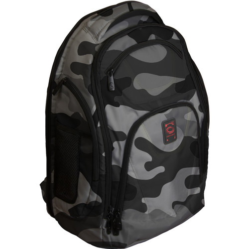 Odyssey Innovative Designs Backtrak XL DJ Gear Backpack (Gray Camouflage)