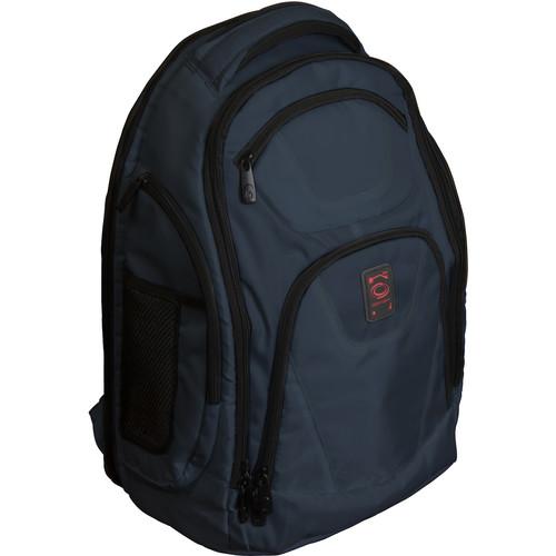 Odyssey Innovative Designs Backtrak XL DJ Gear Backpack (Navy)