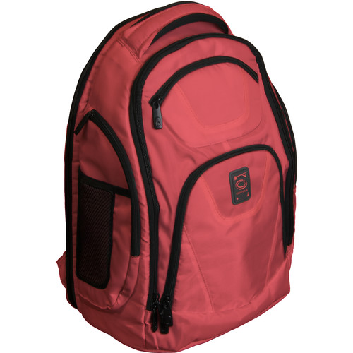 Odyssey Innovative Designs Backtrak XL DJ Gear Backpack (Red)