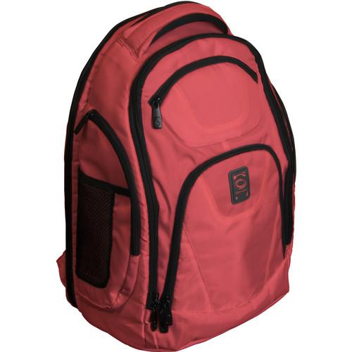 Odyssey Innovative Designs Backtrak XL DJ Gear Backpack (Red)