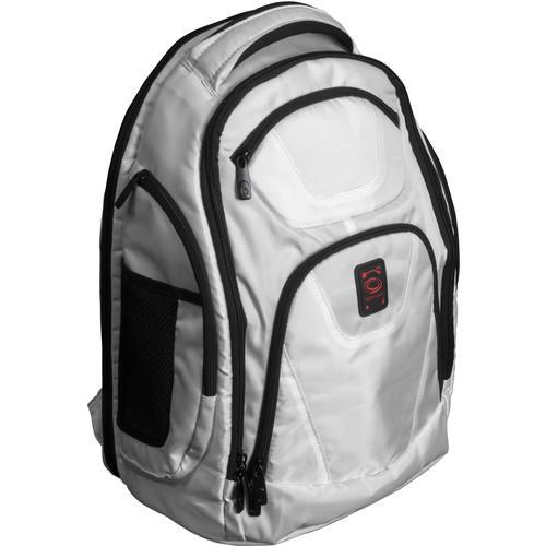 Odyssey Innovative Designs Backtrak XL DJ Gear Backpack (White)
