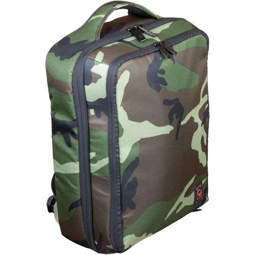 Odyssey Innovative Designs Digital Gear Backpack- Standard Size (Green Camo)