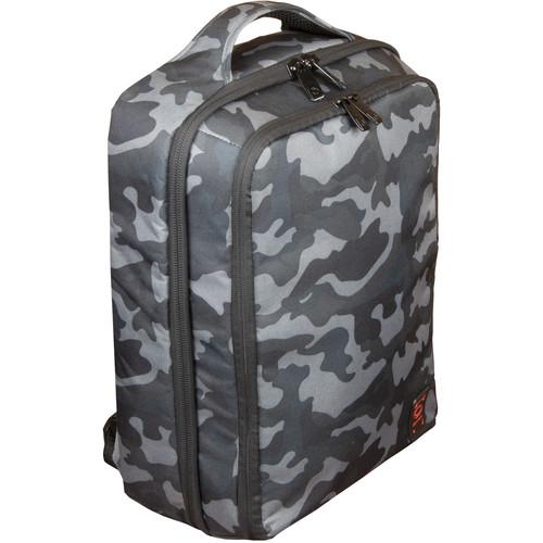 Odyssey Innovative Designs Digital Gear Backpack- Standard Size (Gray Camo)