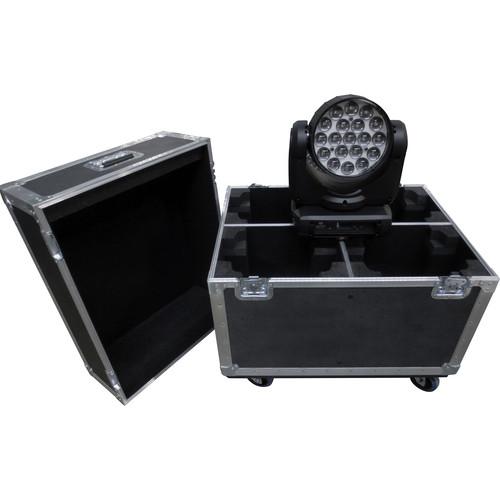 Odyssey Innovative Designs Custom Truck Case for American DJ Inno Color Beam Z19