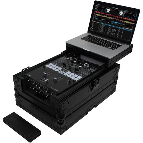 "Odyssey Innovative Designs Flight FX Low-Profile Universal 10"" DJ Mixer Case with Glide Platform"