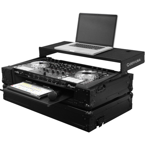 Odyssey Innovative Designs Flight FX Series Pioneer DDJ-SX/S1/T1 Controller Glide Style Case with Bottom GT Glide Tray