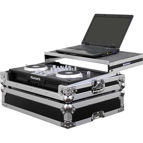 Odyssey Innovative Designs Flight Zone Series FZGSMIXDECKEX Glide Style Case for Numark Mixdeck Express DJ Controller