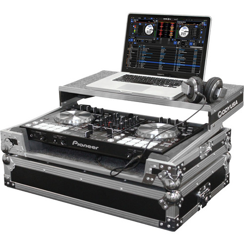 Odyssey Innovative Designs Flight Zone Series FZGSPIDDJSR Glide Style Case for Pioneer DDJ-SR DJ Controller