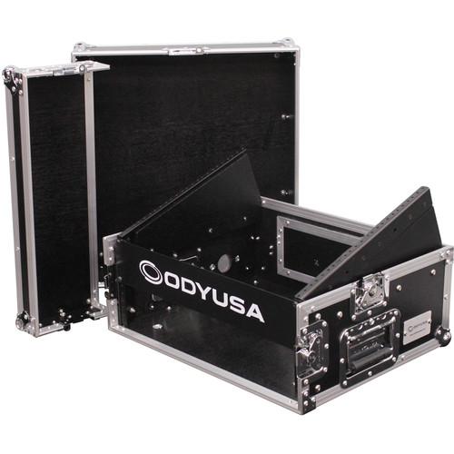 Odyssey Innovative Designs FR0802 Flight Ready Combo Rack (8RU Top Rack, 2RU Bottom Rack)