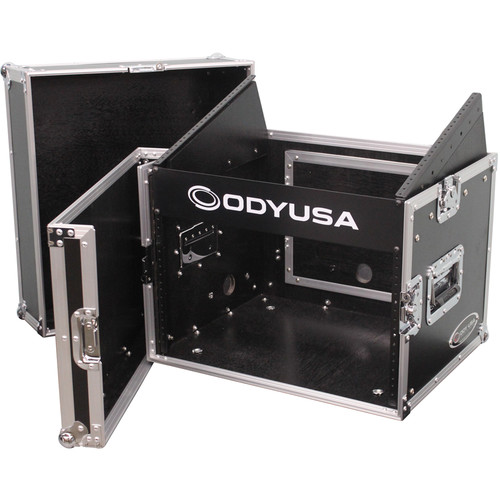 Odyssey Innovative Designs FR0806 Flight Ready Combo Rack (8 RU Over 6 RU)