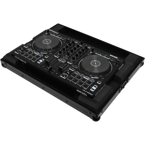 Odyssey Innovative Designs Black Label Low-Profile Case for Roland DJ-202 Serato DJ Controller