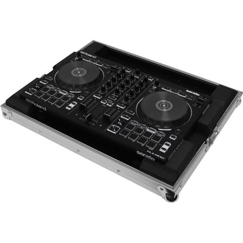 Odyssey Innovative Designs Flight Ready Low-Profile Case for Roland DJ-202 Serato DJ Controller