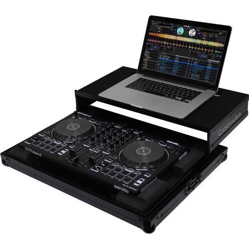 Odyssey Innovative Designs Black Label Roland DJ-202 Low Profile Glide Case