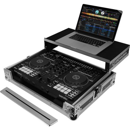 Odyssey Innovative Designs Flight Ready Glide Style Hard Case for Roland DJ-505 Serato DJ Controller