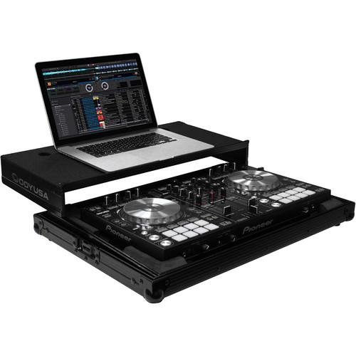 Odyssey Innovative Designs Black Label Glide Style Case for Pioneer DDJ-RR / SR / SR2 DJ Controller