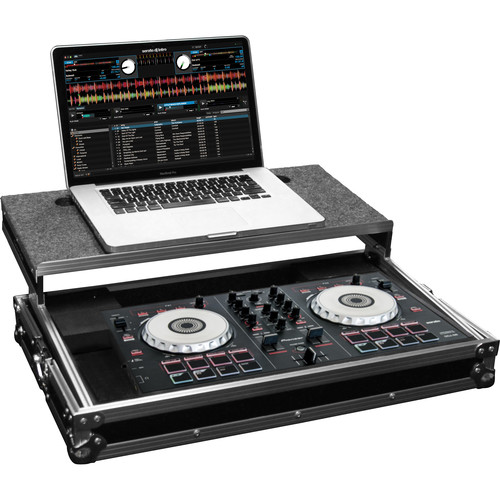 Odyssey Innovative Designs Flight Ready Glide Style Hard-Case for Pioneer DDJ-SB DJ and Numark Mixtrack Pro II Controllers