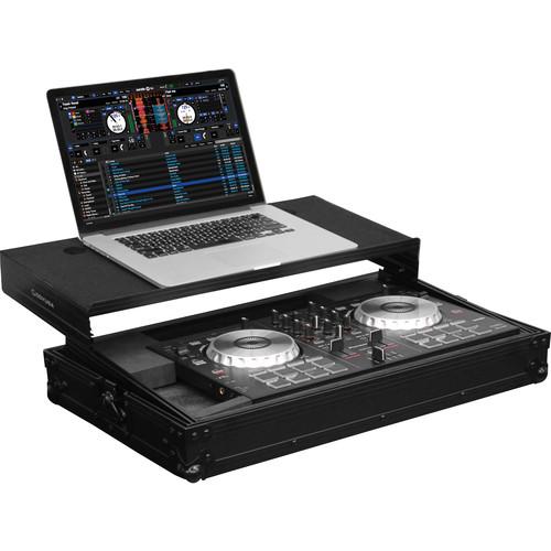 Odyssey Innovative Designs Black Label Glide Style Case for Pioneer DDJ-SB/Numark Mixtrack Pro II DJ Controllers (Black)