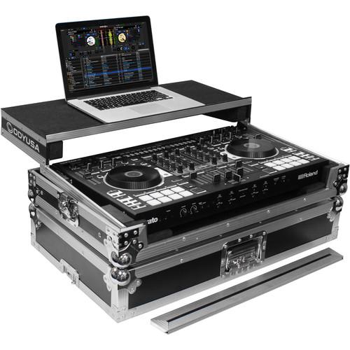 Odyssey Innovative Designs Flight Ready Glide Style Case for Roland DJ-808 DJ Controller