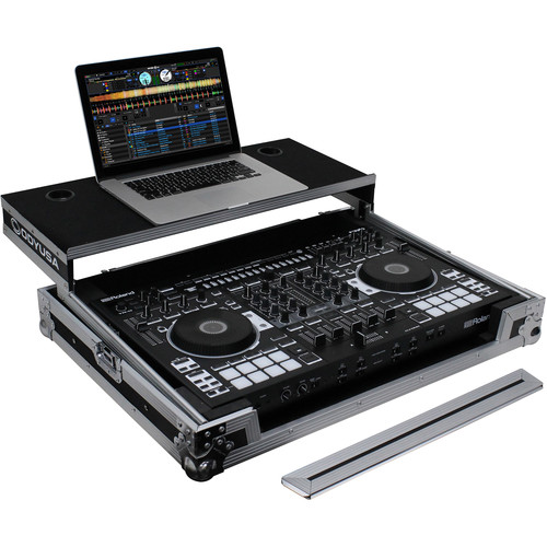 Odyssey Innovative Designs Flight Ready Glide Style Case for Roland DJ-808 DJ Controller
