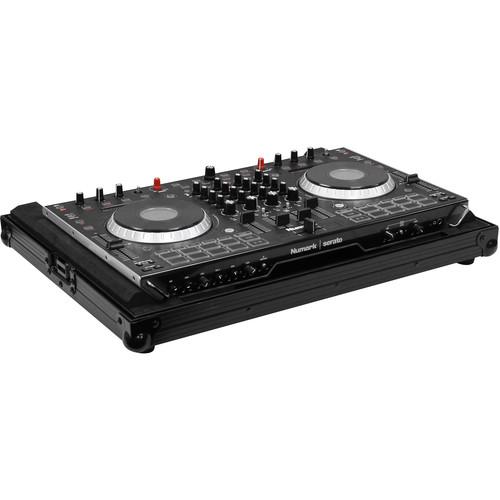Odyssey Innovative Designs Black Label Low Profile Case for Numark NS6II DJ Controller