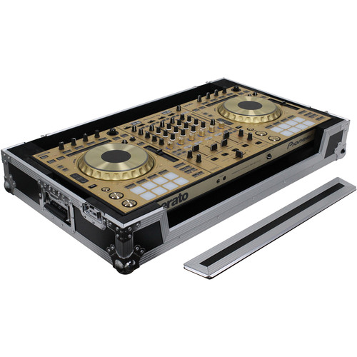 Odyssey Innovative Designs Flight Case for Pioneer DDJ-RZ / SZ / SZ2 DJ & NUMARK NS7 / NS7II / NS7III Controllers with Wheels