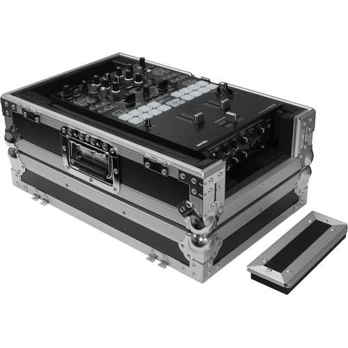 "Odyssey Innovative Designs Universal 10"" Flight Zone DJ Mixer Case (Black & Chrome)"