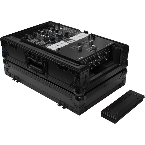 """Odyssey Innovative Designs Flight Zone Series Universal 10"""" DJ Mixer Case with Extra Cable Space"""