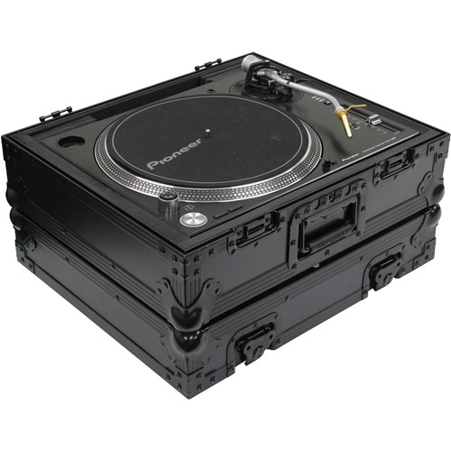 Odyssey Innovative Designs Black Label Universal Case for Technics 1200 Style DJ Turntables