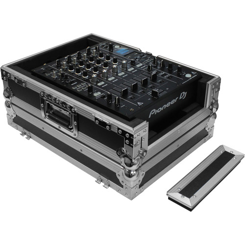 "Odyssey Innovative Designs Black Label Series Universal 12"" DJ Mixer Case with Extra Cable Space"