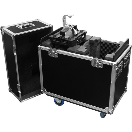 Odyssey Innovative Designs Flight Zone Case for Chauvet Intimidator Beam/Spot LED 300/350 or Spot LED 400 IRC