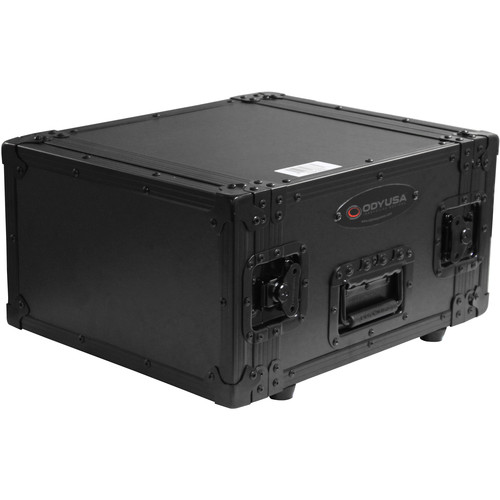 Odyssey Innovative Designs Black Label DNP DS40 / DS80 Photo Booth Printer Case (Black on Black)