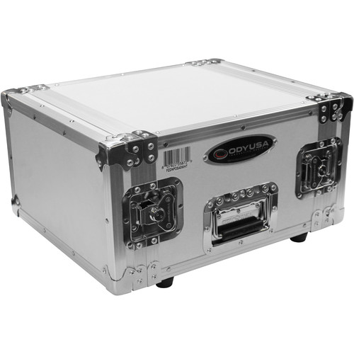 Odyssey Innovative Designs Special Edition Flight Zone DNP DS40 / DS80 Photo Booth Printer Case (White on Chrome)