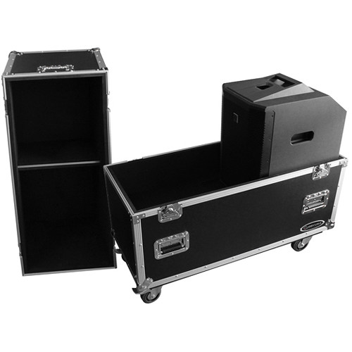 Odyssey Innovative Designs Electro-Voice EVOLVE 50 Portable Column System Road Case with Wheels