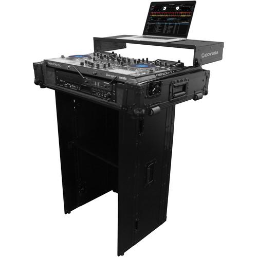 """Odyssey Innovative Designs Black Label Foldout Stand (21 x 36"""")"""