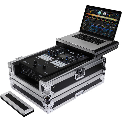 "Odyssey Innovative Designs Universal 12"" Format DJ Mixer Case with Extra Deep Rear Cable Space (Flight Zone)"