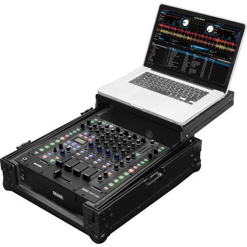 "Odyssey Innovative Designs Black Label Glide Style Mixer Case for Rane 64/Universal 12"" DJ Mixer"