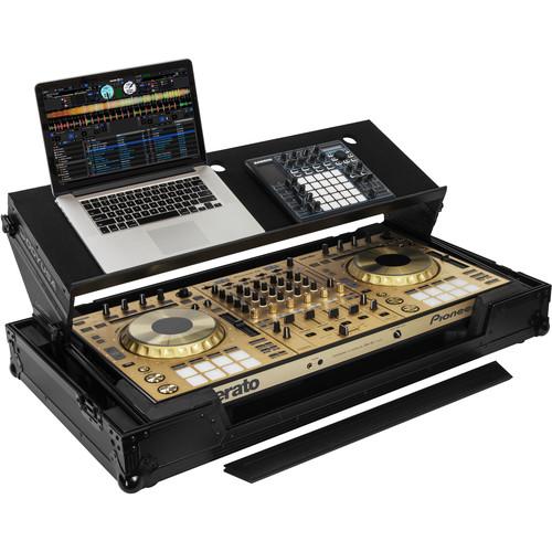 Odyssey Innovative Designs Black Label GSA Glide Style Case for Pioneer DDJ-RZ / SZ / SZ2 Controllers (All Black)