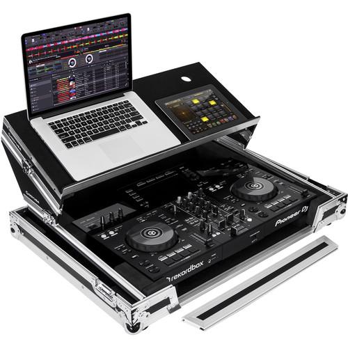 Odyssey Innovative Designs Pioneer XDJ-RR DJ Controller Producer Glide Style Case with Angled Glide Platform