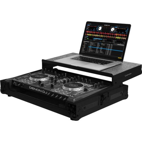 Odyssey Innovative Designs Black Label Low Profile Glide Style Case for Denon DN-MC4000 Controller (Black)