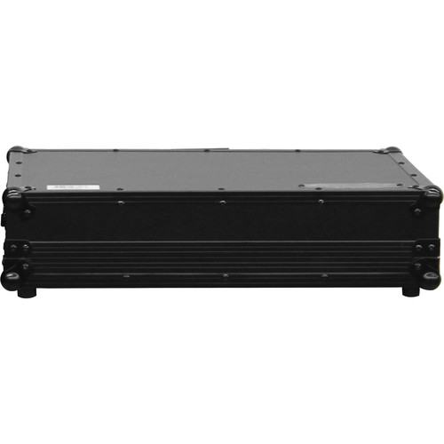 Odyssey Innovative Designs Black Label Glide Style Case with Shallow Bottom Reverse Lid Design for Numark NV DJ Controller (Black)